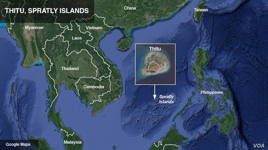 Thitu, in the Spratly Islands