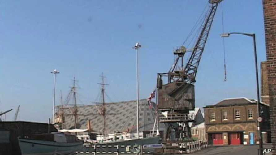Britain's historic Chatham Dockyard