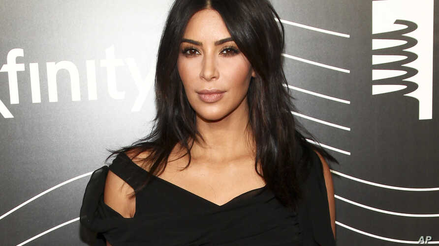 FILE -  Kim Kardashian West attends the 20th Annual Webby Awards in New York.