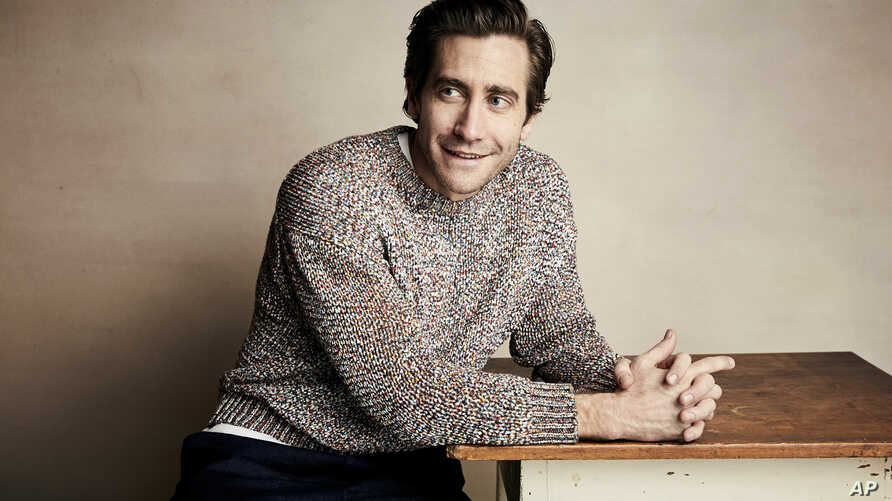"Jake Gyllenhaal poses for a portrait to promote the film ""Velvet Buzzsaw"" at the Salesforce Music Lodge during the Sundance Film Festival, Jan. 27, 2019, in Park City, Utah."