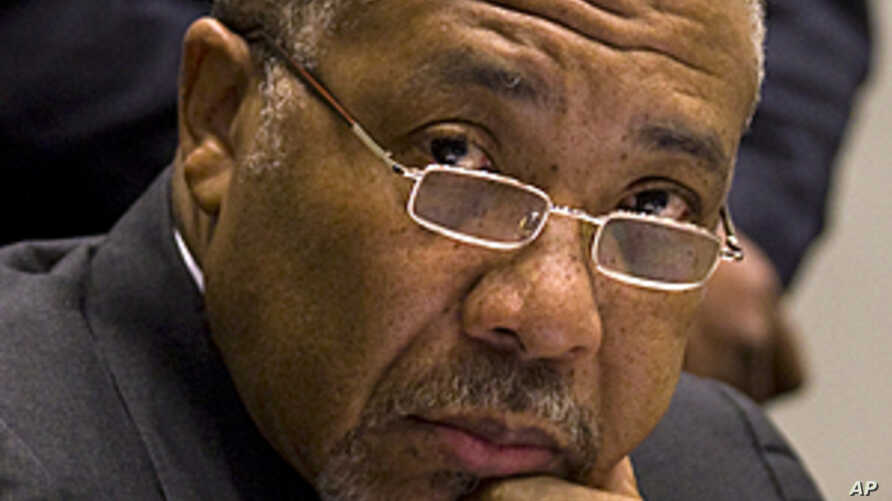 Former Liberian President Charles Taylor (file photo).