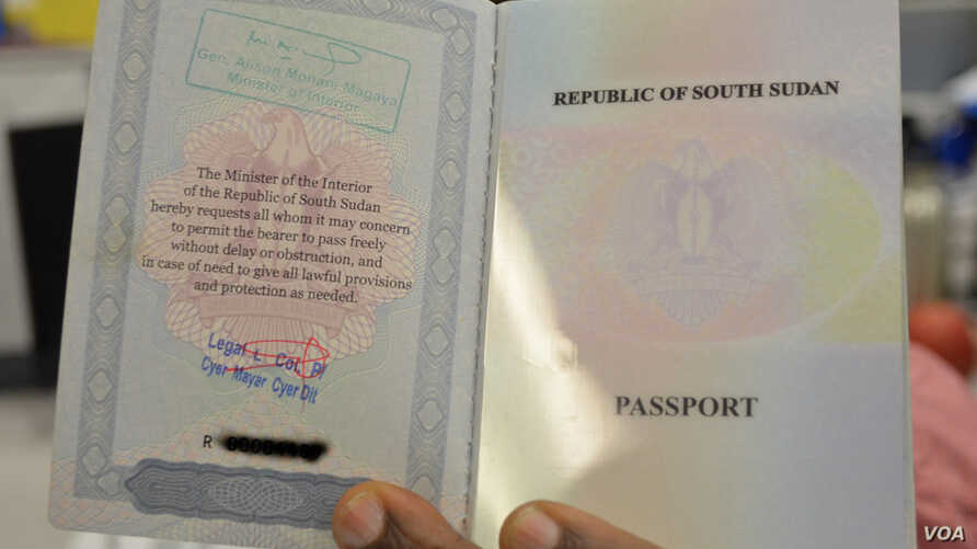 A bureaucratic backlog means South Sudanese have to wait, often for months, to get a passport.