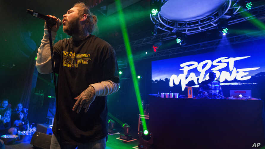 Post Malone performs during Snow Fest at Park City Live on January 20, 2018, in Park City, Utah.