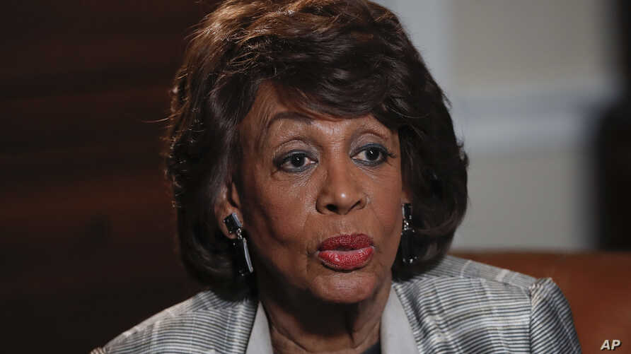 """Rep. Maxine Waters, D-Calif., speaks during an interview at her congressional office on Capitol Hill in Washington, March 23, 2017. Waters skipped President Donald Trump's first address to Congress after calling him abnormal, """"potentially dangerous f"""