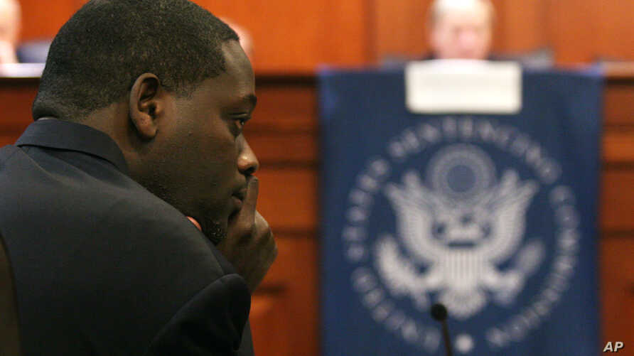 Dallas County district attorney Craig Watkins takes part in a U.S. Sentencing Commission public hearing in Austin, Texas, Nov. 19, 2009.