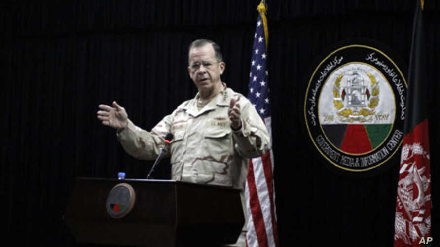 Chairman of the Joint Chiefs of Staff, Admiral Mike Mullen, 14 Dec 2009