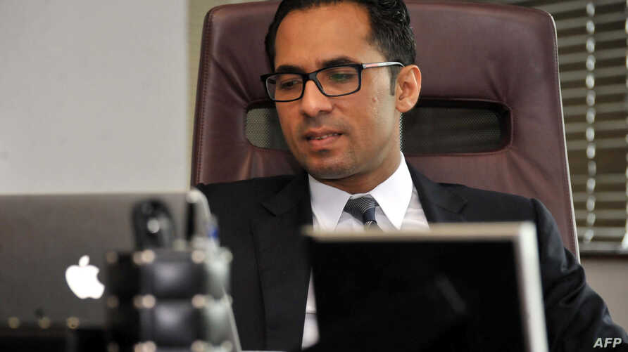 FILE - Tanzanian businessman Mohammed Dewji at his office in Dar es Salaam, April 23, 2015. Africa's youngest billionaire was kidnapped Oct. 11, 2018, by gunmen in Tanzania and returned home safely Saturday.