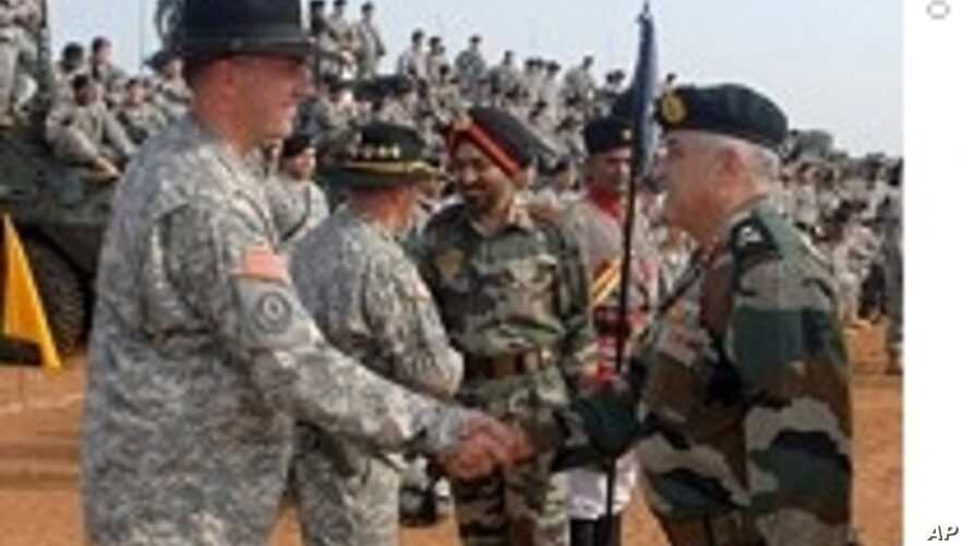 India, US Conduct Joint Military Exercise