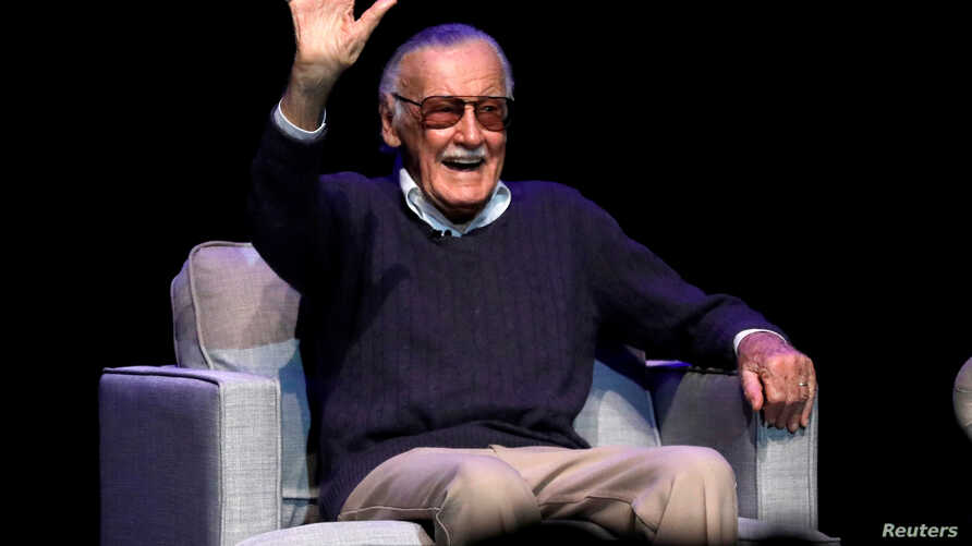 "ILE PHOTO: Marvel Comics co-creator Stan Lee attends a tribute event ""Extraordinary: Stan Lee"" at the Saban Theater in Beverly Hills, California, Aug. 22, 2017."