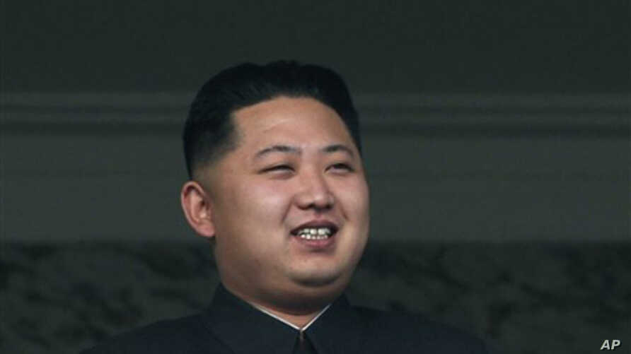 In this Oct. 10, 2010 file photo, North Korean leader Kim Jong Il's son Kim Jong Un attends a massive military parade marking the 65th anniversary of the communist nation's ruling Workers' Party in Pyongyang, North Korea