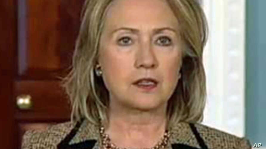 Clinton Urges Mubarak Government to Engage Immediately With Protesters