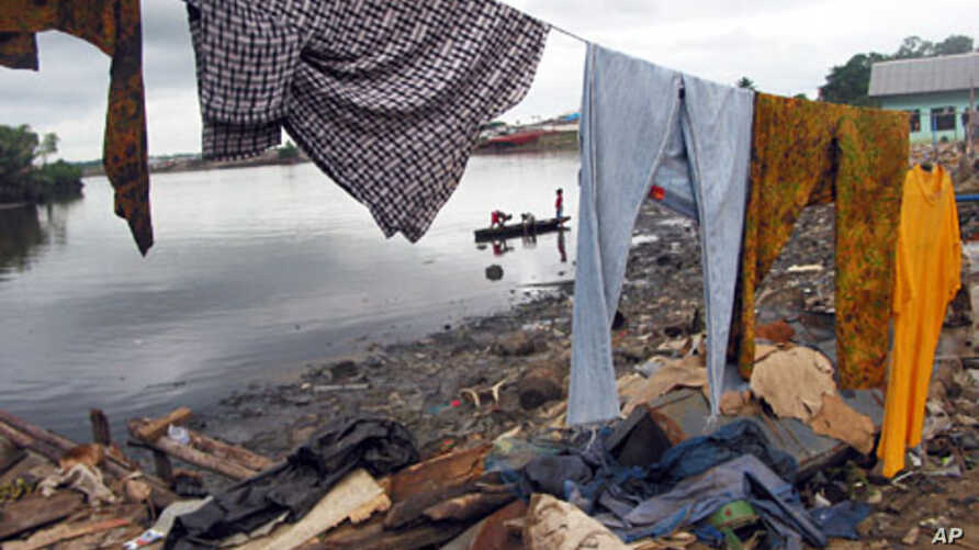 A slum in Port Harcourt, Nigeria is one of many across the continent