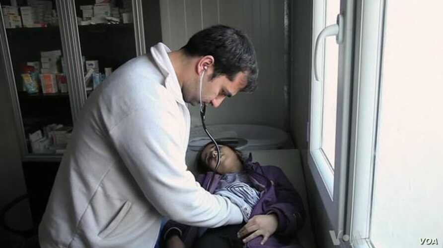 Health Crisis Threatens Displaced Syrians