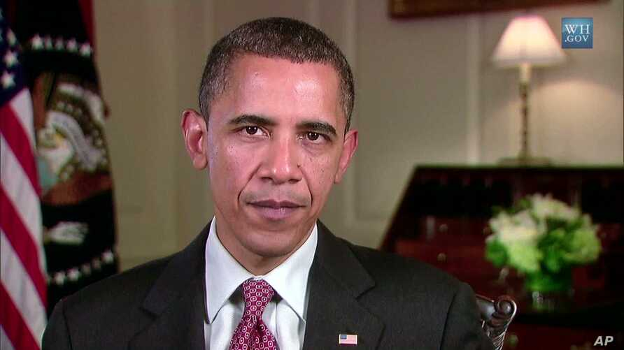 President Obama Delivers his weekly address, 7 Aug 2010