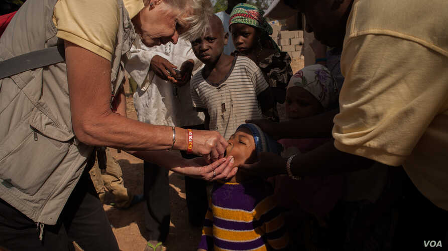 Rotary polio vaccination day in Kaduna, Nigeria (Rotary International)