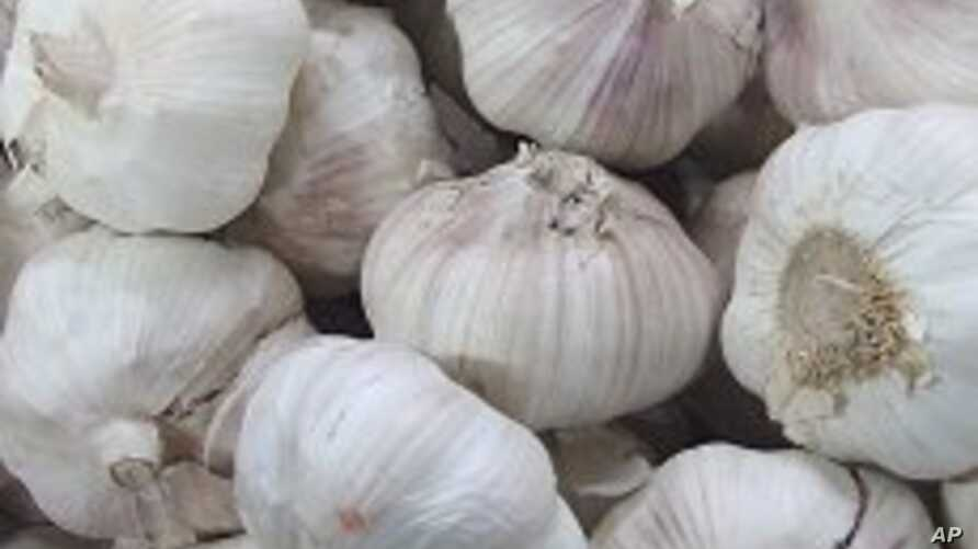 In some places in China, garlic prices rose 40 times this year.