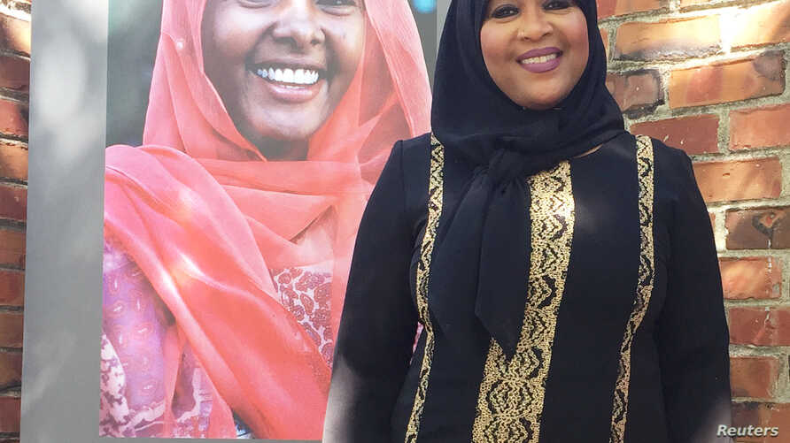 """Rabi'a Keeble, the lay leader behind the Qal'bu Maryam Women's Mosque, which held its first service on Good Friday, says """"We uplift the female, just as the Prophet loved women, we must follow in his footsteps and love ourselves and each other."""""""