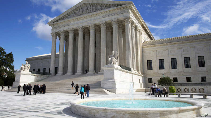 The U.S. Supreme Court building, Oct. 5, 2015.