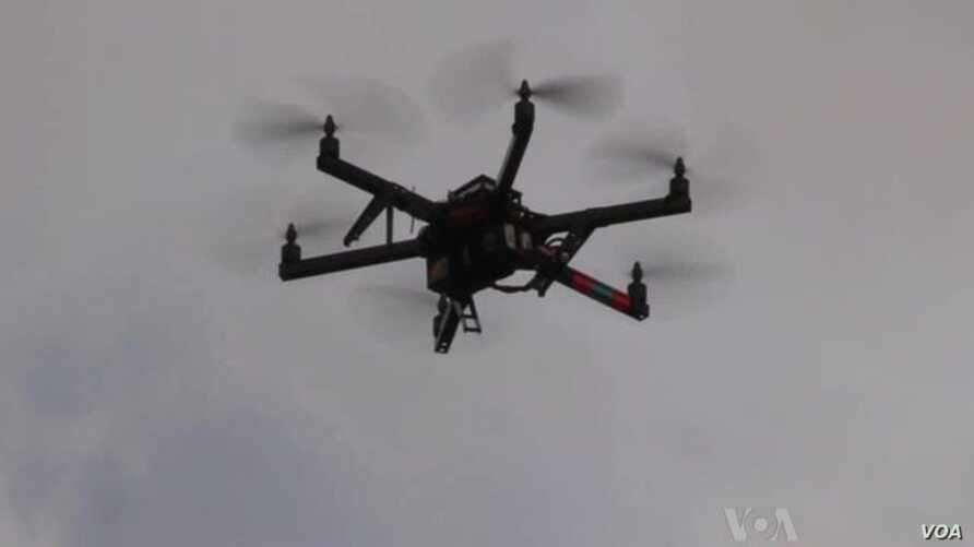 Immigrant Flying High With Drone Business