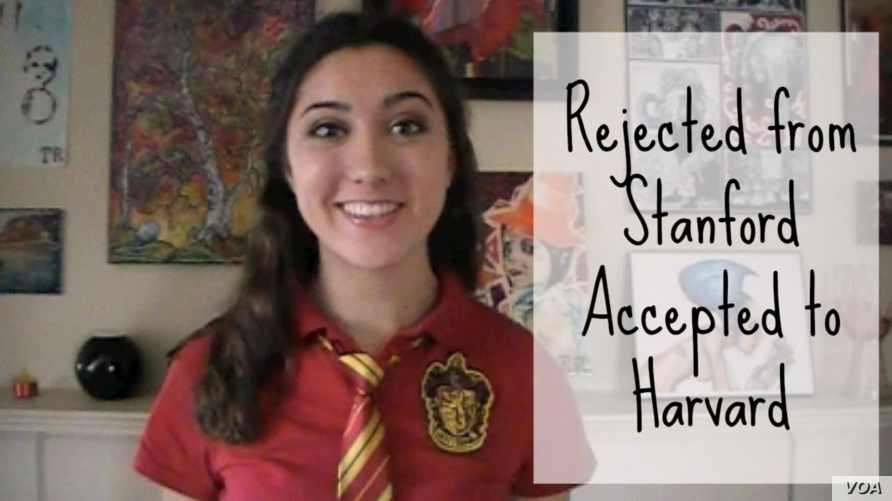 Rejected from Stanford, Accepted by Harvard