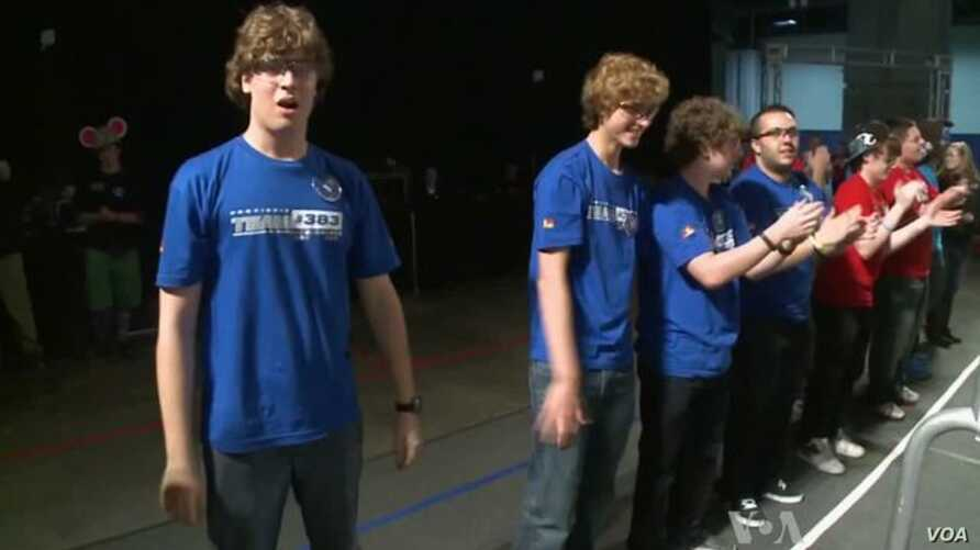 Teens Compete in International Robotics Competition