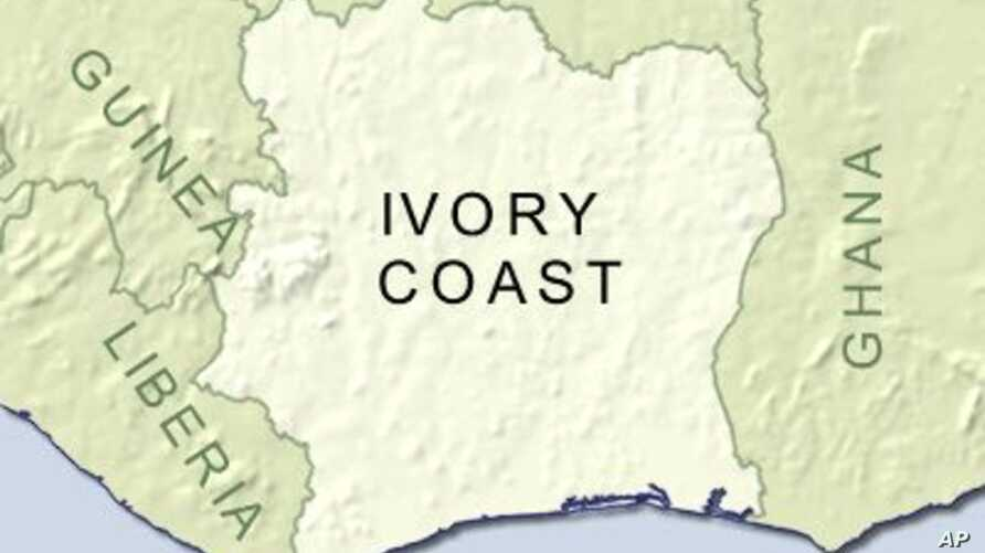 Ivory Coast is currently split in two, with a rebel-held north and a government-held south