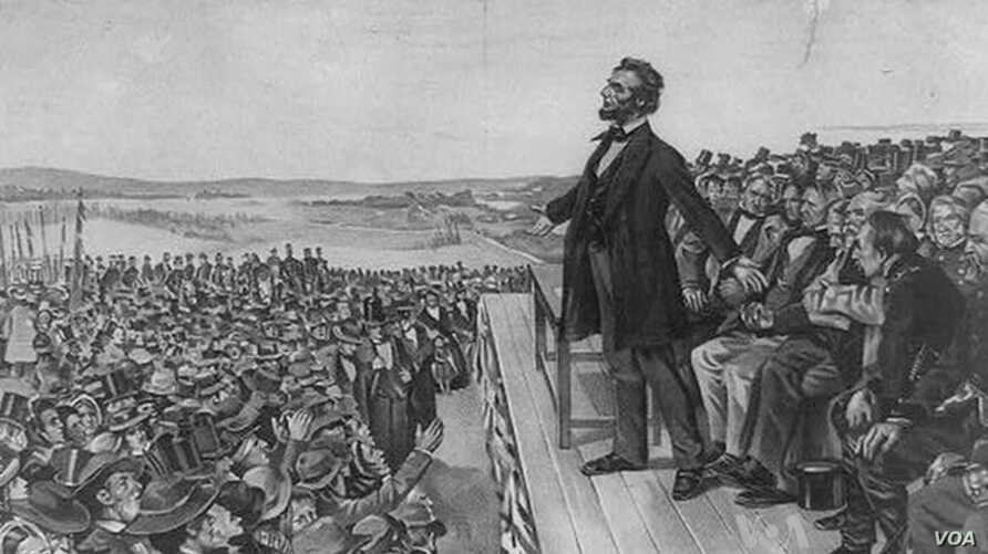 150th Anniversary of Lincoln's Gettysburg Address Marked at Battlefield