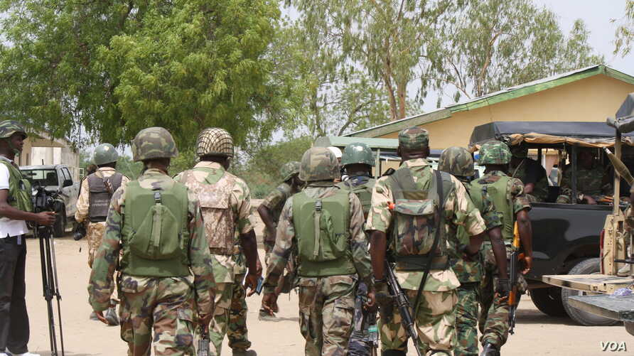 Nigerian security forces say they will destroy any area they believe to be a Boko Haram camp. (Heather Murdock/VOA).