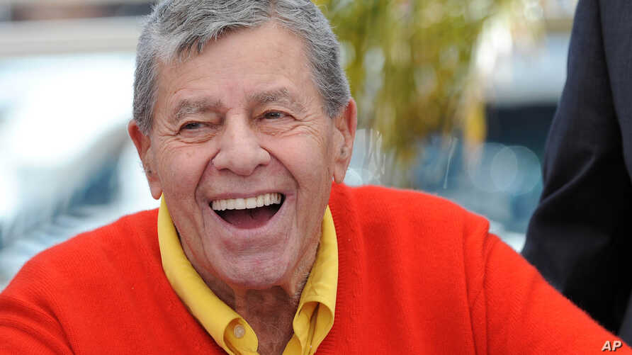 "Jerry Lewis at a photocall for ""Max Rose"" at the 66th Cannes Film Festival, May 23, 2013."