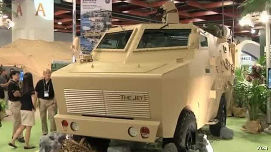 Taiwan Shows Off Military Technology