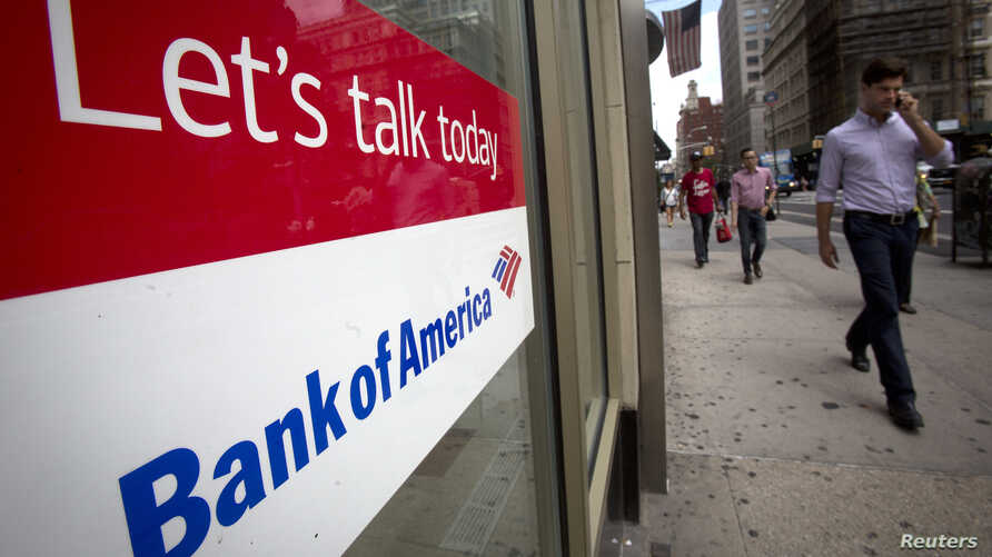 A Bank Of America location is pictured in the Manhattan borough of New York August 21, 2014. Bank of America Corp has reached a $16.65 billion settlement with U.S. regulators to settle charges that it misled investors into buying troubled mortgage-ba