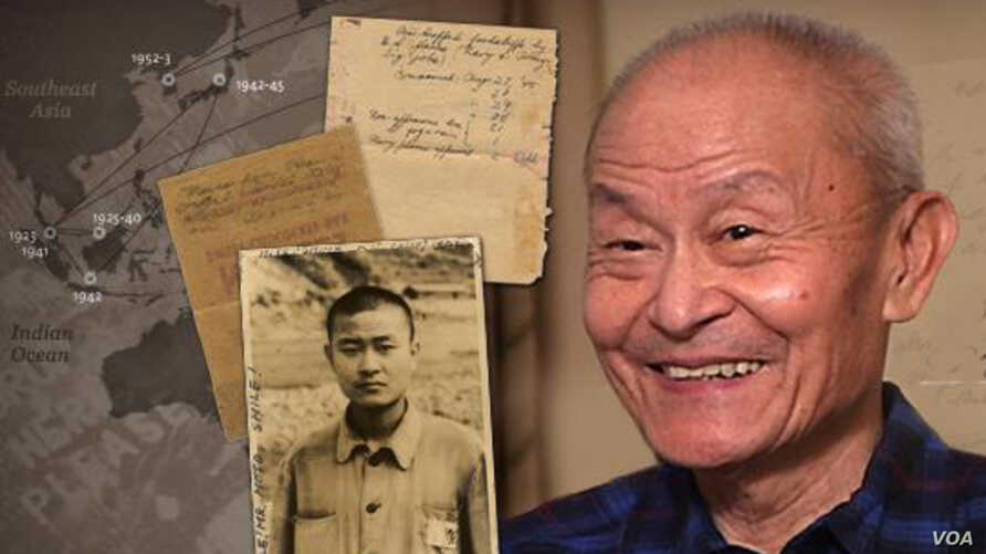 Paul Loong, 88, spent three years in a Japanese POW camp during World War II before immigrating to the United States.(everydayisaholiday.org)