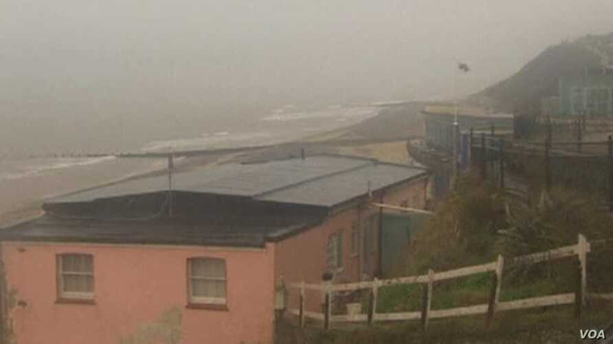 Deadly Hurricane-Force Storm Batters UK, Europe