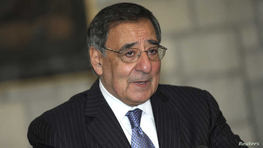 Outgoing US Defense Secretary Leon Panetta (file photo)