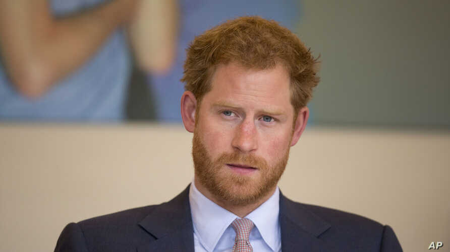 Britain's Prince Harry says in mid July 2016  that he wishes he had spoken sooner about the death of his mother, Princess Diana.