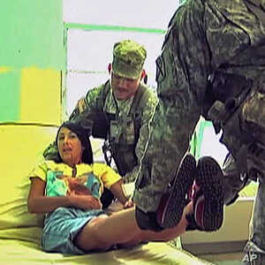 US Military Practices Medical Response to Nuclear Attack