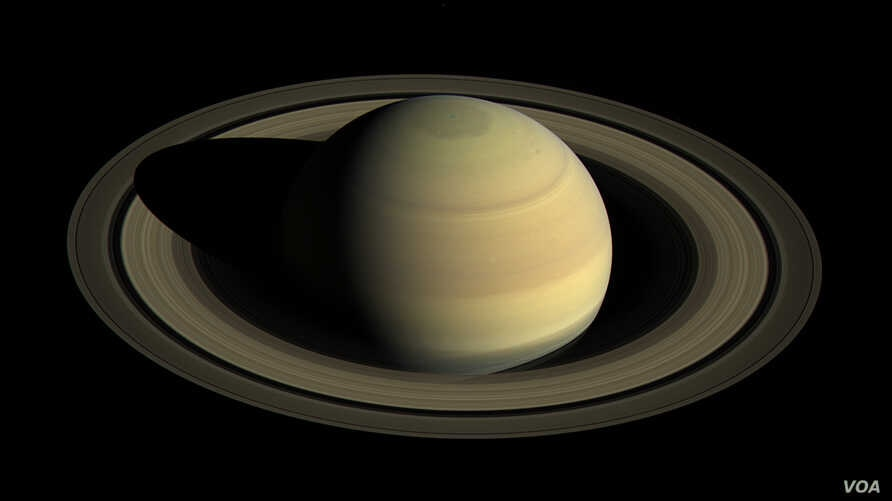 Saturn taken by the Cassini Spacecraft