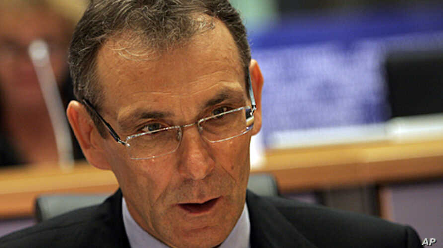 EU Development Commissioner Andris Pielbags (file photo)