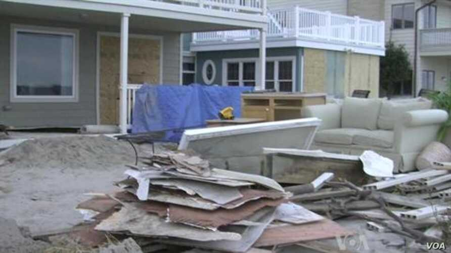 New Jersey Recovering from Hurricane Sandy