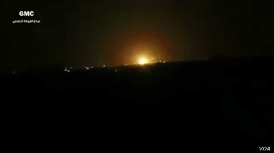 Isral attack syria