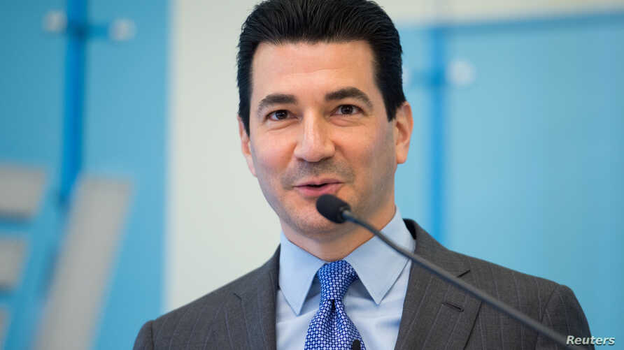 Dr. Scott Gottlieb is seen in this American Enterprise Institute photo released in Washington, March 10, 2017.