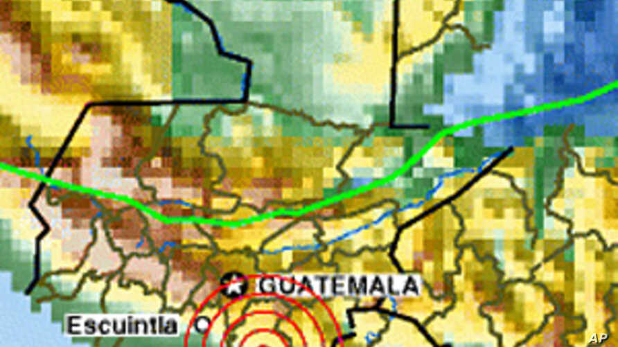 3 Earthquakes Strike Guatemala; 3 Dead