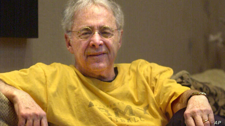 """FILE - Chuck Barris, the madcap producer of """"The Gong Show"""" and """"The Dating Game,"""" died of natural causes at his home in Palisades, N.Y., March 21, 2017."""