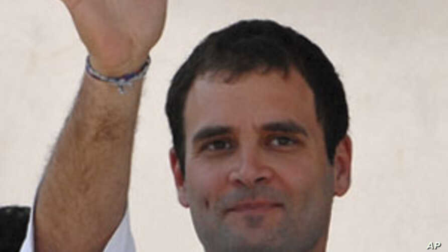 Mother's Absence Provides Political Opening for Another Gandhi