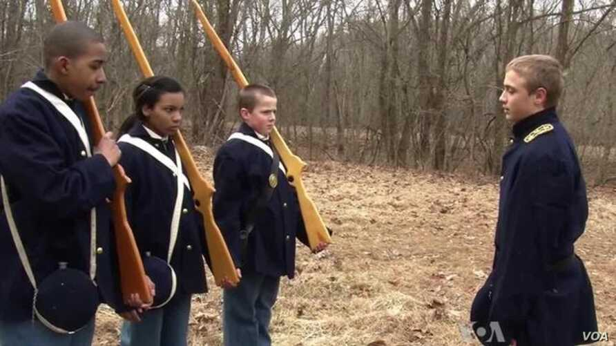 Students Make Movies to Experience US History