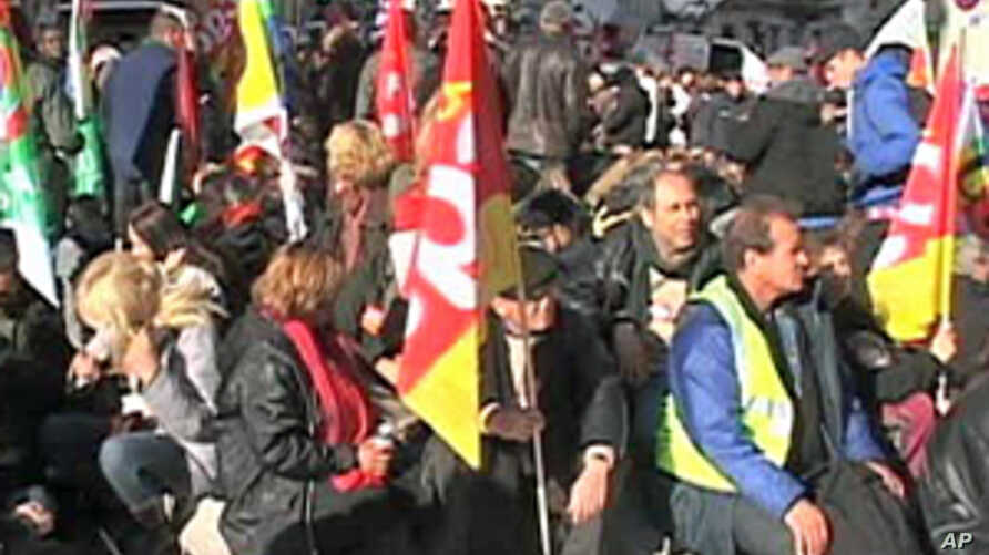 French Unions Announce More Strikes