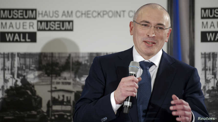 FILE – After Yukos shareholder Mikhail Khodorkovsky, shown