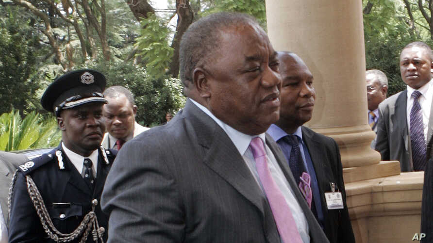 Zambia's President Rupiah Banda arrives at the Presidential Guest House for Extra-Ordinary Summit in Pretoria, South Africa, January 26, 2009.