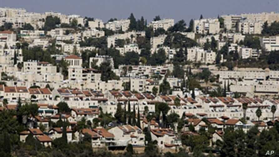 A general view of the Israeli settlement of Ramot, November 10, 2010