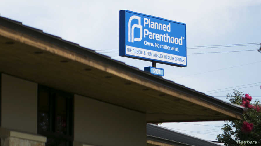 FILE - Planned Parenthood South Austin Health Center is seen in Austin, Texas, June 27, 2016.